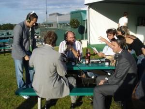 Working at Wimbledon